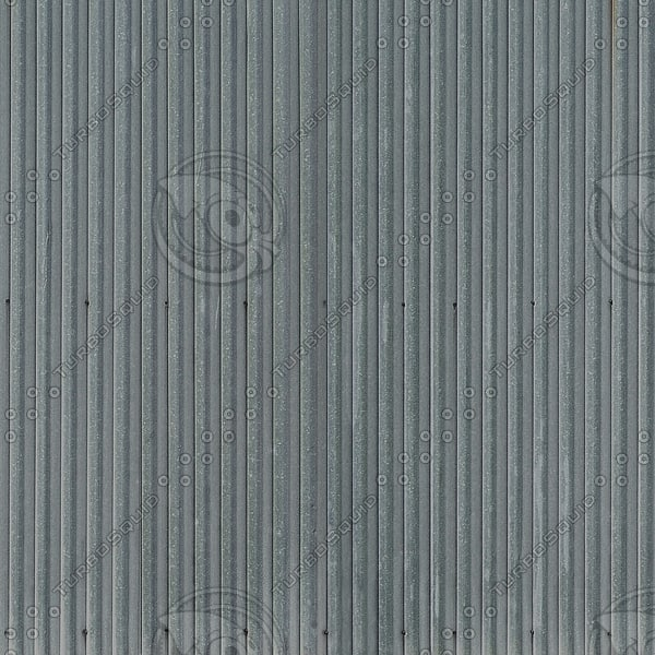 F014 corrugated metal fence 1024