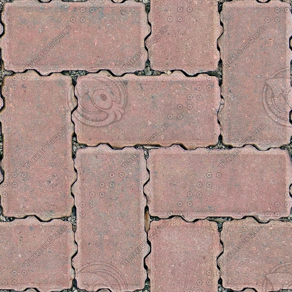 G318 interlocking brick paving