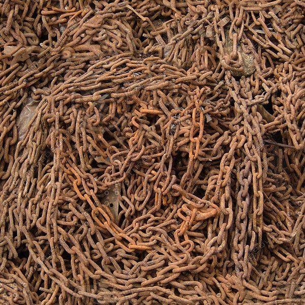 M196 rusty chains texture