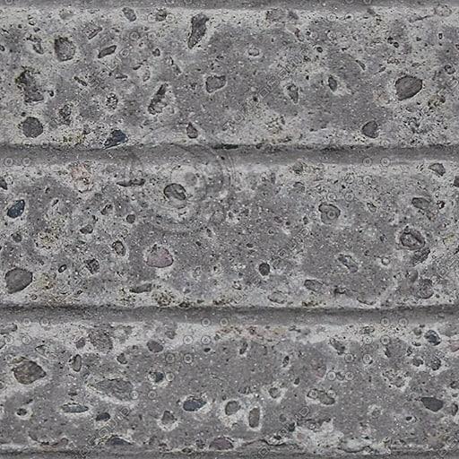 C085 concrete wall sea