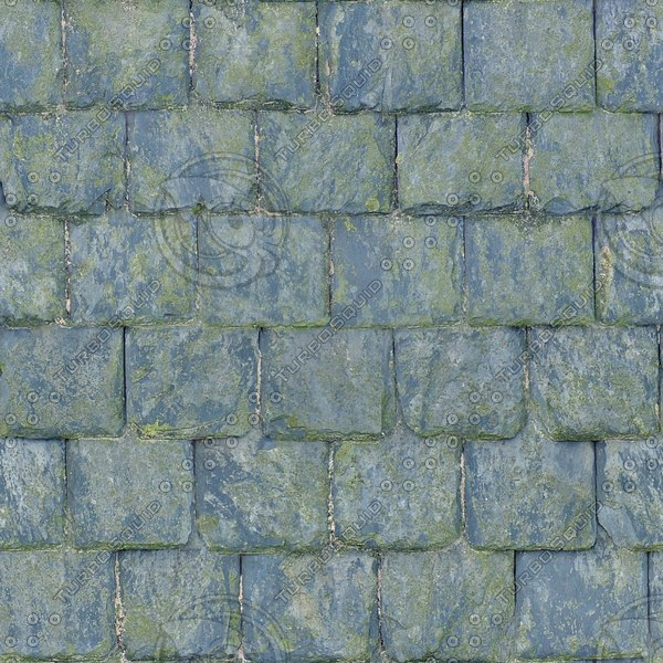 R075 weathered slate roof texture