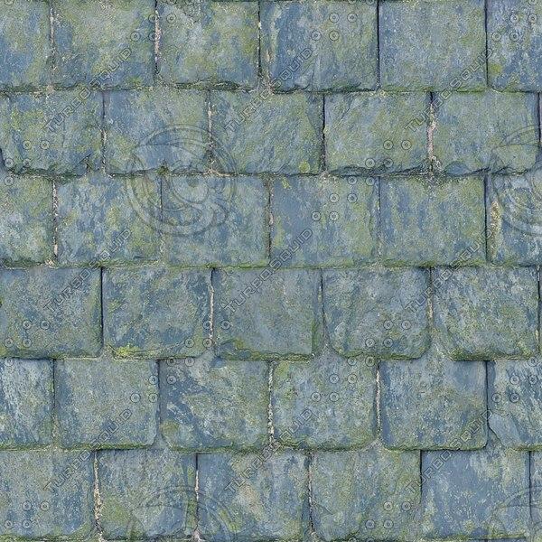 R075 weathered slate roof texture