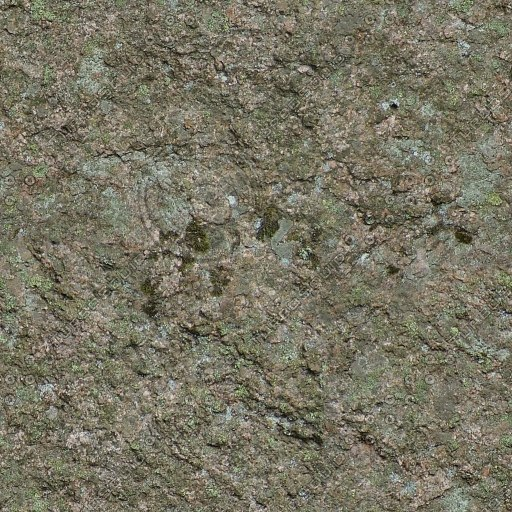 RS121 mountain rock stone