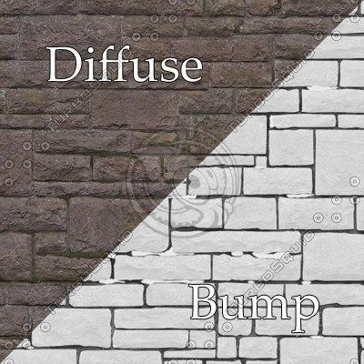 bl002 sandstone wall blocks