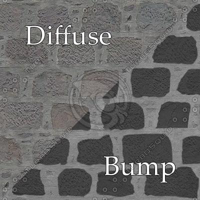 bl013 bumpmap stone wall SRF