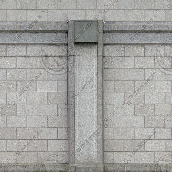 W139 cinder blocks wall
