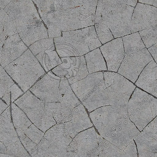 C101 cracked concrete floor wall texture