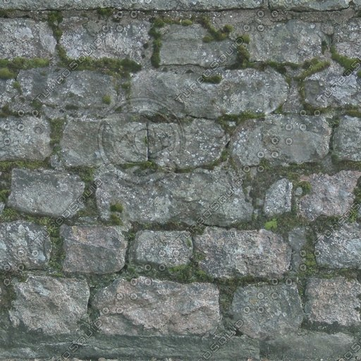 W042 stone wall texture