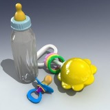 maya baby accessories dummy bottle