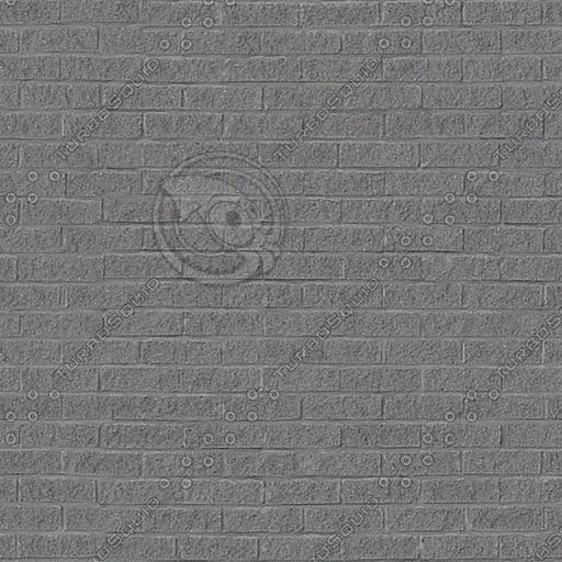 BRK100 bricks gray wall