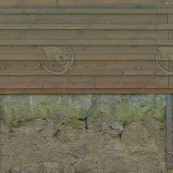 F003 garden wall fence