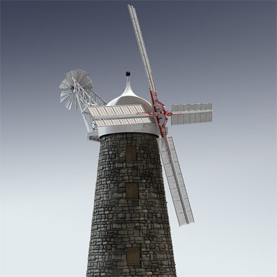 max wind windmill