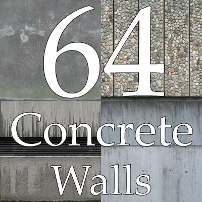 concrete wall texture collection