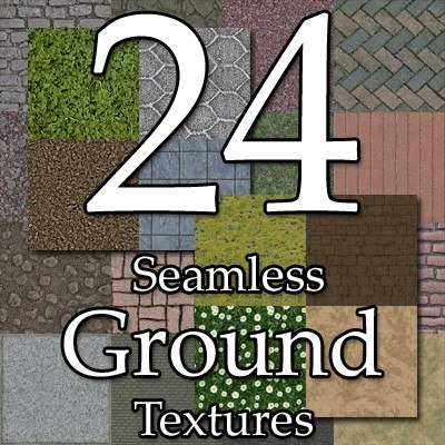 UPCG24 ground textures collection