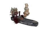 steamship fantasy steampunk 3d model