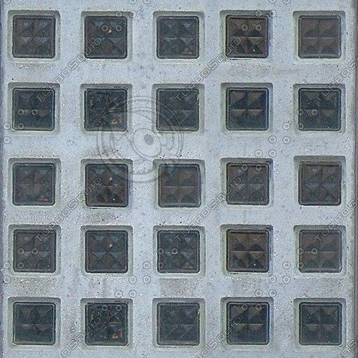 T003 glass tiles concrete