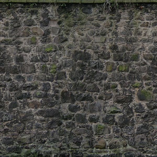 W164 stone wall texture