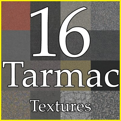 GCTA16 tarmac texture collection