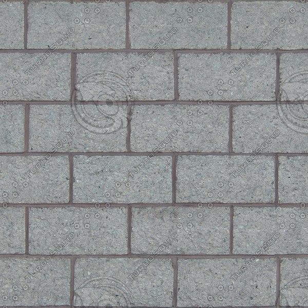BL170 concrete blocks texture
