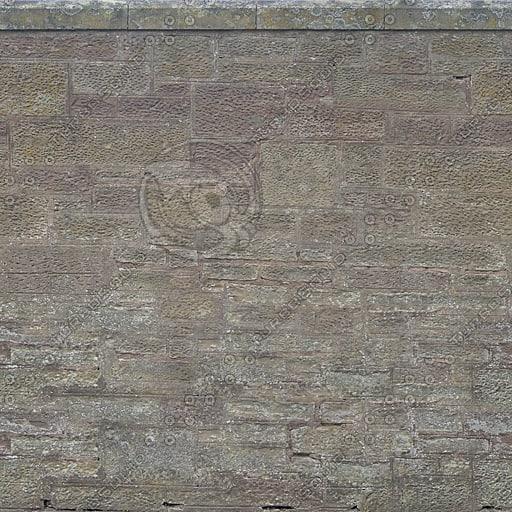 W315 sandstone wall weathered