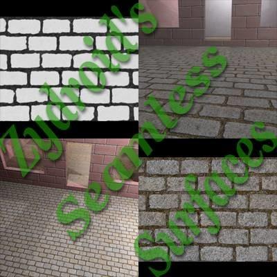 SRF cobblestones paving stones