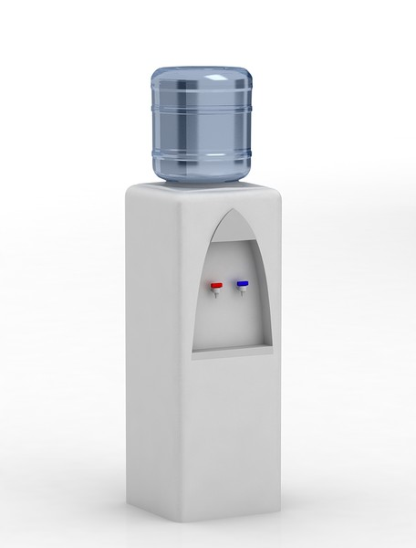 3d model watercooler office