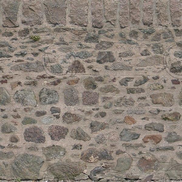 W388 garden wall texture