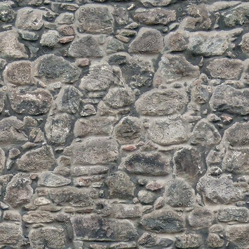 BL028 stone wall weathered