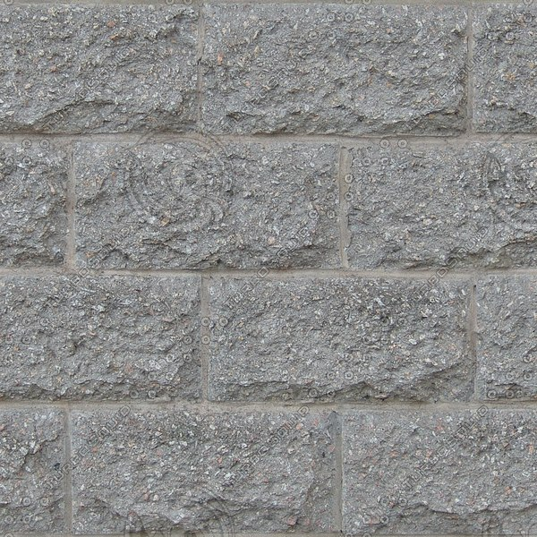 BL155 concrete masonry blocks wall texture