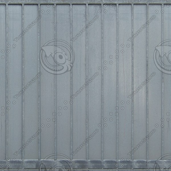 F033 metal fence barrier texture