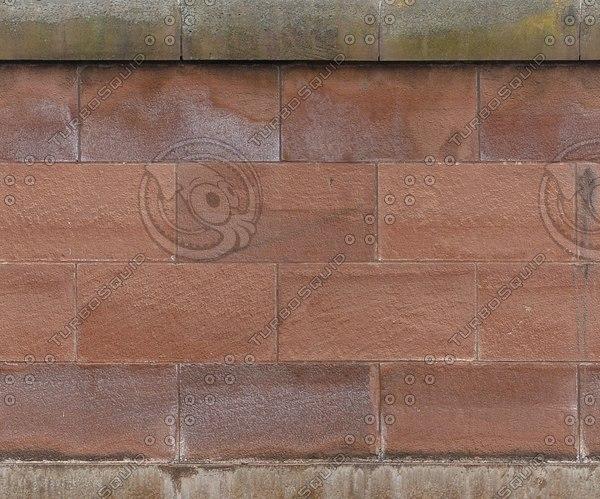 W113 sandstone bridge wall texture
