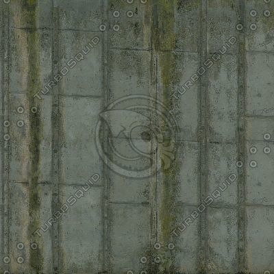 W107 weathered concrete wall