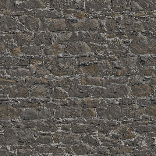 BL018 old stone wall texture