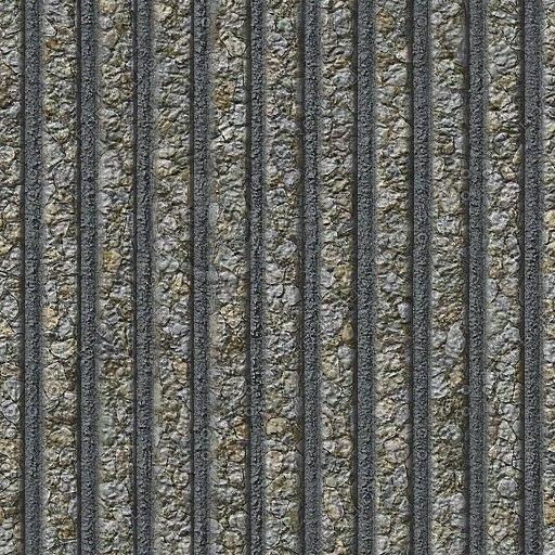 C094 corrugated concrete wall texture