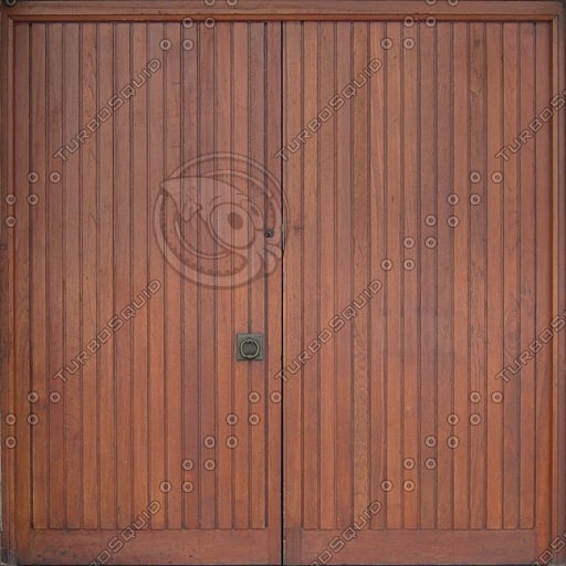 D155 wooden double door texture
