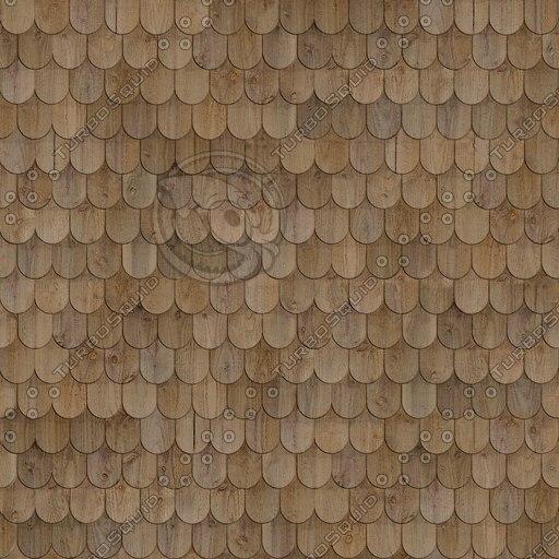 R004b wooden roof shingles