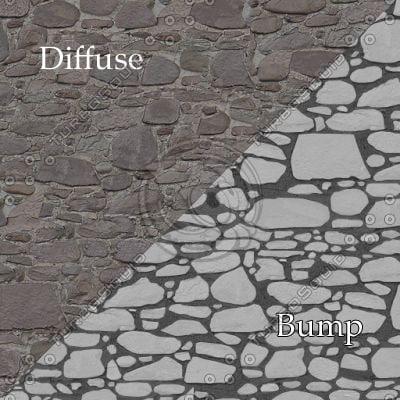 bl009 bumpmap stone wall SRF