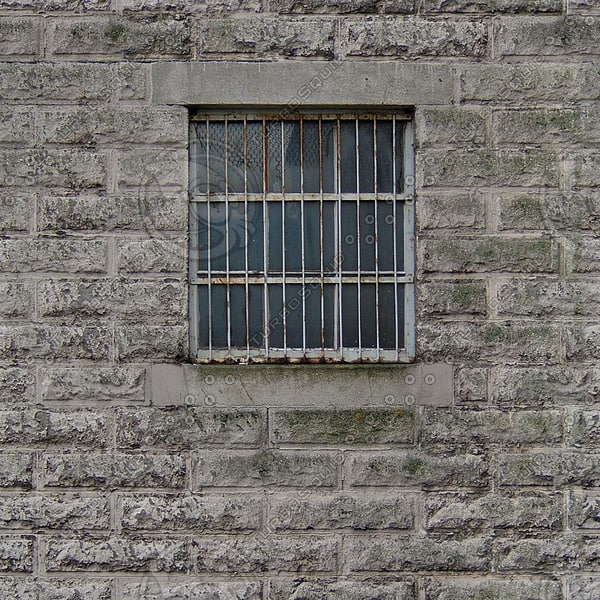 WND121 prison jail windows texture