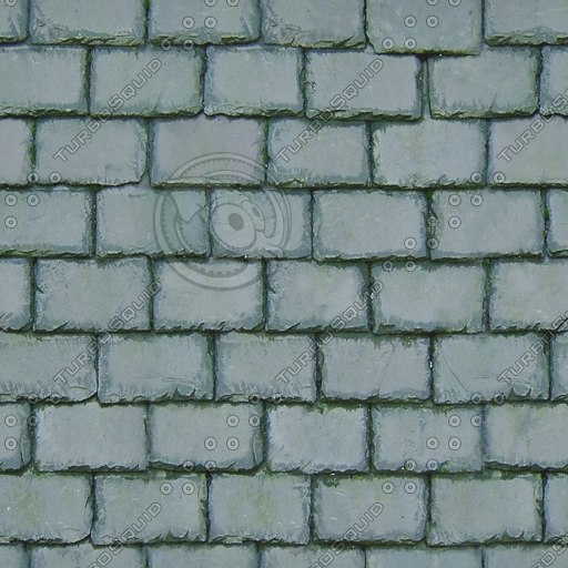 R056 green slate roof tiles texture
