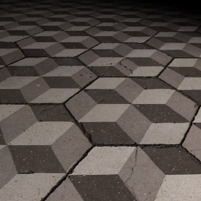 Geometrical Tiled Floor.jpg
