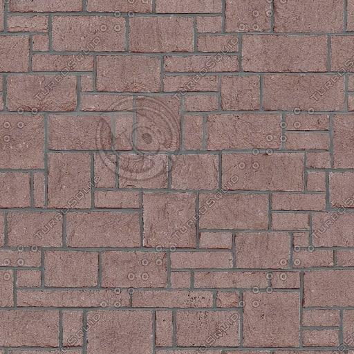 BL070 red sandstone veneer