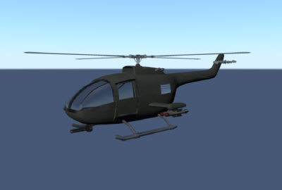 helicopter heli 3d ma