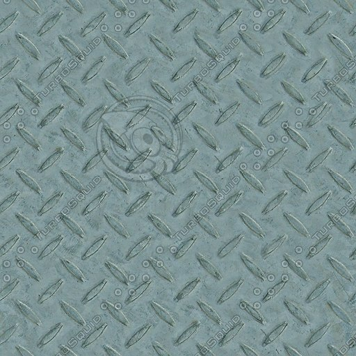 M064 diamond metal plate floor