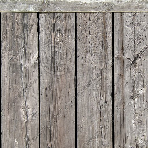 WD005 old wooden fence