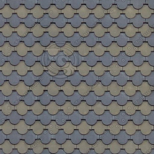R028 clay roof tiles texture