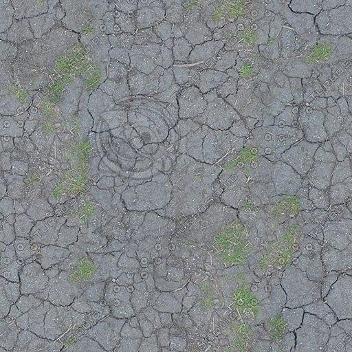 G211 cracked mud earth