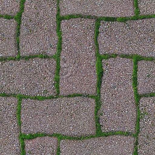 G102 mossy brick paving bricks texture