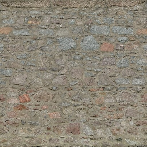 W346 brown stone wall texture