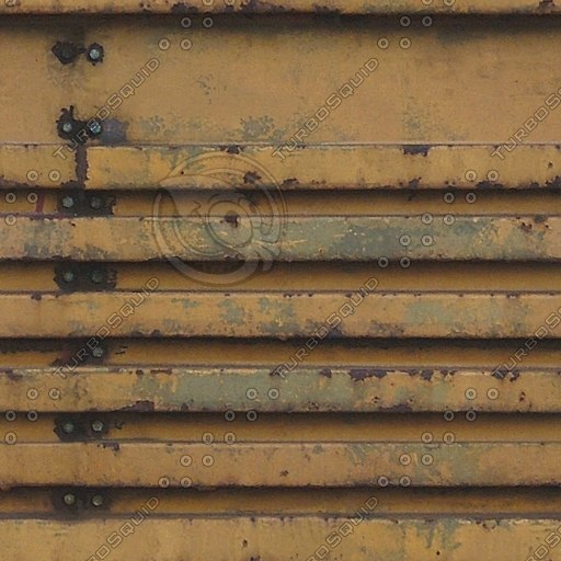 M160 rusty yellow machinery texture