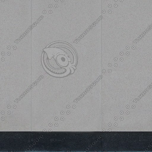 W124 stucco white concrete cement wall
